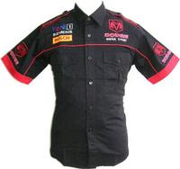 Dodge Motor Sport Crew Shirt Black