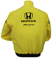 Honda Accord Racing Jacket Yellow