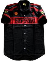 Ferrari F1 Black and Red Racing Shirt