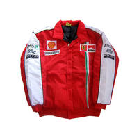 Ferrari Team Jacket Red, White