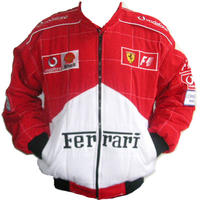 Ferrari F1 Quilted Racing Jacket