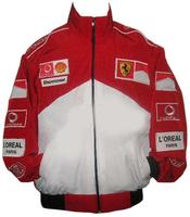Ferrari Michael Schumacher Racing Jacket