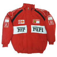 Ferrari Vodafone Racing Jacket Red \u0026 White