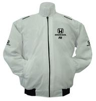 Honda Fit Racing Jacket White