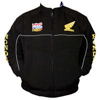 Honda HRC Racing Jacket Black
