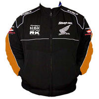 Honda Repsol Racing Jacket Black with Orange