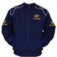 Hyundai Racing Jacket Dark Blue