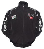 Jeep Racing Jacket Black