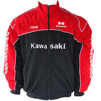 Kawasaki Motorcycle Jacket Red and Black
