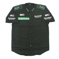 Kawasaki Racing Team Crew Shirt Black