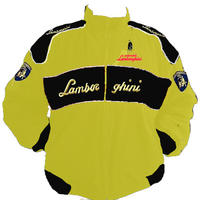 Lamborghini Racing Jacket Yellow and Black