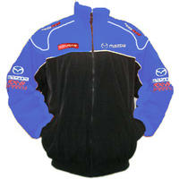 Mazda RX-8 Speed3 Racing Jacket Royal Blue and Black