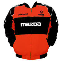 Mazda Protege 5 Racing Jacket Red and Black