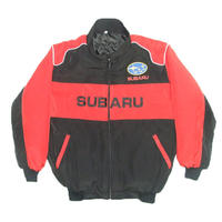 Subaru Racing Jacket Red & Black