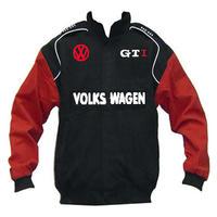 race car jackets vw volkswagen gti racing jacket black. Black Bedroom Furniture Sets. Home Design Ideas