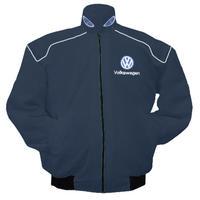 race car jackets vw volkswagen racing jacket dark blue. Black Bedroom Furniture Sets. Home Design Ideas