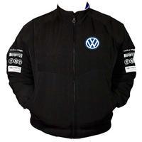 race car jackets vw volkswagen siemens racing jacket black. Black Bedroom Furniture Sets. Home Design Ideas