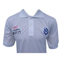 VW Volkswagen Racing Polo Shirt White
