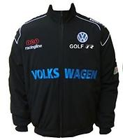 VW Volkswagen Golf R Racing Jacket Dark Blue