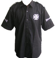 West Coast Choppers Crew Shirt Black